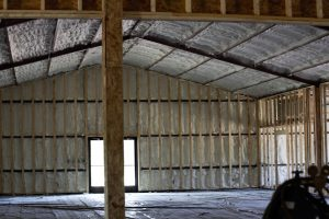 Logan Ranch - Interior Foam Construction