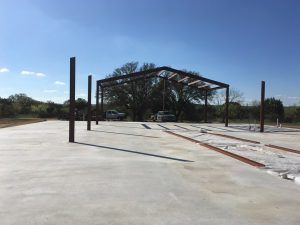 Logan Ranch - Steel Beam Construction