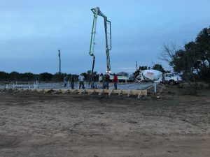 Logan Ranch - Foundation/Slab Pouring