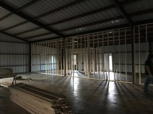 Logan Ranch - Interior Framing