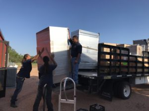 Logan Ranch - Kitchen Equipment Delivered
